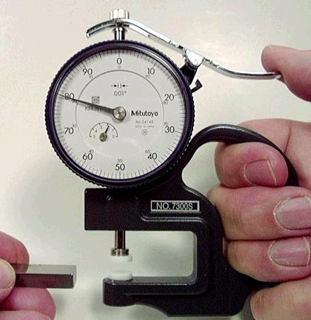 Starrett Dial Indicator >> 012 : Dial Thickness Gage